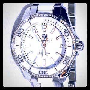 Tag Heuer Aquaracer White Ladies Watch